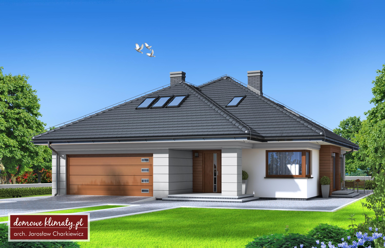 Projekt Domu Selene V 15856 M² Domowe Klimaty