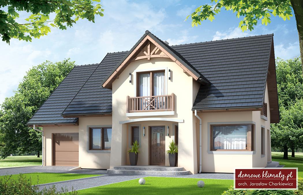 Projekt Domu Antolka Nf40 154 19 M Domowe Klimaty