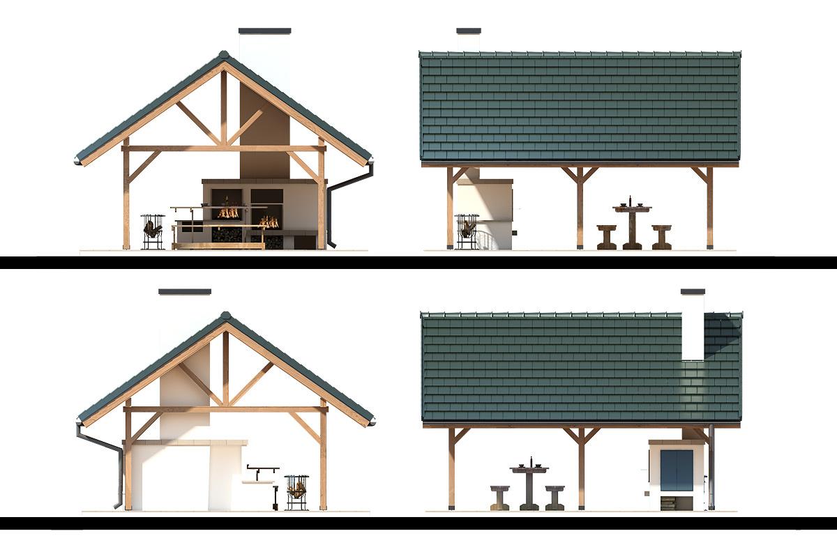 Projekt Domu Altana A 2