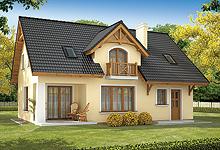 Tanie Gotowe Projekty Małych Domów Jednorodzinnych Z Poddaszem